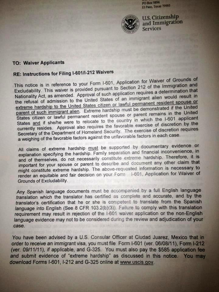 Recomendacion Carta Hacer Una Para De Como Inmigracion