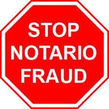 stop notario fraud